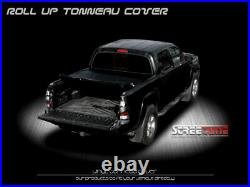For 04-14 Ford F150 Truck 6.5 Ft 78 Bed Lock & Roll Up Soft Vinyl Tonneau Cover