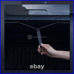 For 2004-2014 F150/2006-2008 Mark LT 6.5 Ft Bed Lock & Roll Soft Tonneau Cover
