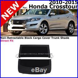 For Honda Crosstour 10-15 Non-Retractable Black Cargo Cover Trunk Luggage Shade
