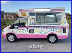 Ford Transit Ice-cream Van 2004 Heavy Duty T330 Carpigiani 381 Super Uno