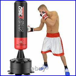 Free Standing Punch Bag 6ft Super Heavy Duty Boxing MMA Kick Stand Training