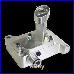 G&R Billet Aluminum T4 S400 Turbo Pedestal For 2003-2007 Ford 6.0L Powerstroke