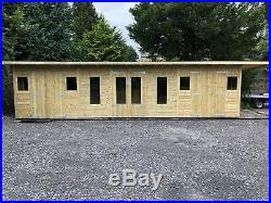 Garden Shed Summerhouse Tanalised Super Heavy Duty 30x10 19mm T&g. 3x2