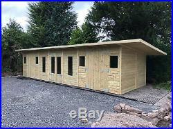 Garden Shed Summerhouse Tanalised Super Heavy Duty 30x10 22mm T&g. 3x2