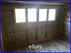 Garden Shed Super Heavy Duty Tanalised 10x10 Apex 19mm T&g. 3x2