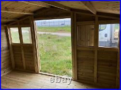 Garden Shed Super Heavy Duty Tanalised 12x10 Apex 19mm T&g 3x2