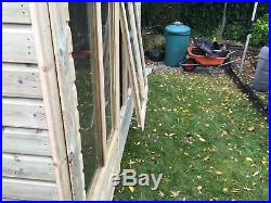 Garden Shed Super Heavy Duty Tanalised 12x8 Pent 19mm T&g. 3x2. Opening Windows