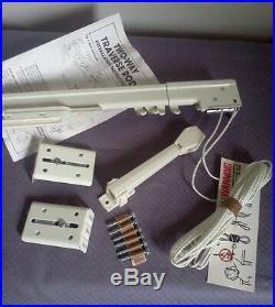 Graber Traverse Rod! SUPER HEAVY DUTY! Multiple sizes! Single/double rods