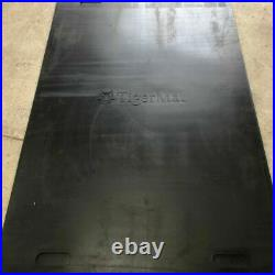 Gym Floor Mats Heavy Duty Solid Rubber 2 Mat Pack Super Grip 12mm Thick