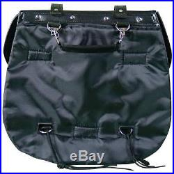 HEAVY DUTY PVC SADDLE BAGS FOR HONDA SHADOW SABRE ACE 1100 75 6Pc T/Over Style