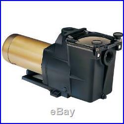 Hayward 1 Horsepower 2 Speed Heavy Duty Motor Super Swimming Pool Pump with Switch