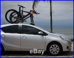 Heavy Duty 2-Bike Fork Mount Roof Auto Car SUV Rack Top Mounted Bicycle Carrier