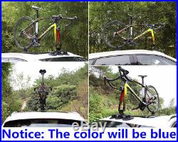 Heavy Duty Auto Car Van Roof Bicycle Suction Rack Carrier Hitch Bike Accessories