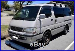 Heavy Duty ROOF RACKS for Toyota Hiace Super Custom Low Roof 1995-2000 Cross Bar