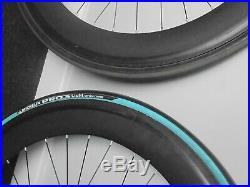 Heavy duty super strong 700mm MINT velodrome fixie wheel set, FREE tires&tubes
