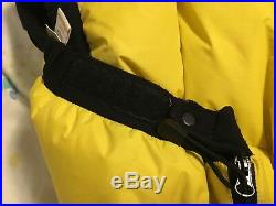 Heavy duty super warm goose down puffy ski camping mountaineering snow pants XL