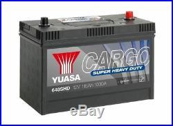 Heavyweight battery yuasa shd 640shd 12v 115ah 1000a cargo super heavy duty bat