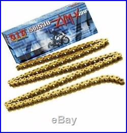 Honda Blackbird CBR1100 DID ZVM SUPER HEAVY DUTY GOLD X-Ring Chain 530ZVMX 110