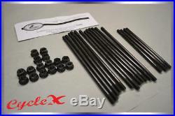 Honda CB750 69-78 Cylinder Super Stud and Heavy Duty Stud Nut Combo