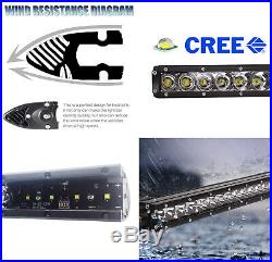 Invisible 30-Inch LED Light Bar withMounting Brackets, Wires For 17-20 Ford Raptor