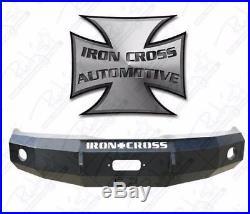 Iron Cross HD Base Front Bumper 2008-2010 Ford F250 F350 F450 20-425-08