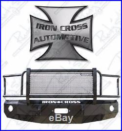 Iron Cross HD Grille Guard Front Bumper 2005-2007 Ford F250 F350 F450 24-425-05