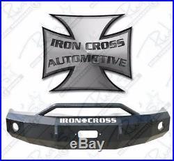 Iron Cross HD Push Bar Front Bumper 2011-2015 Ford F250 F350 F450 22-425-11