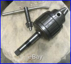 JACOBS USA No. 20N 1 Ball Bearing Super Drill Chuck MT 3 Morse Taper Heavy Duty