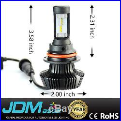 JDM ASTAR 8TH 9007 HB5 8000lm White LED Headlight Conversion Kit High Low Beam
