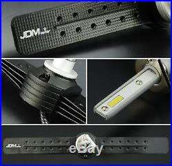 JDM ASTAR H1 8000LM LED Headlight Kit 6500K White Bulbs High Low Beam Fog Light