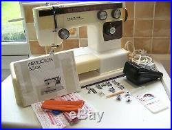 Japan Janome Newhome Super Streamliner Heavy Duty Sewing Machine, Case, Serviced