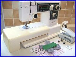 Japanese Janome Novum Super Automatic Pattern Heavy Duty Sewing Machine, Serviced