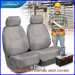 Jeep Wrangler JL Seat Covers Coverking Cordura Ballistic Super Heavy Duty