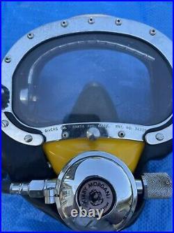 KM Kirby Morgan Heavy-duty commercial diving band maskKM Super flow198 Regulator