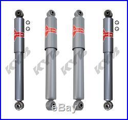 KYB 4 Heavy Duty Upgrade SHOCKS CHEVY GMC VAN G10 G20 78 to 88 89 KG5409 KG5430