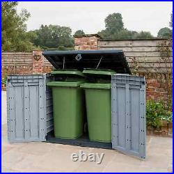 Keter Store It Out ACE MAX Garden Lockable Storage Box Shed Outside Bin Tool NEW