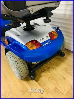Kymco Super 4 Luxury Mid Size Mobility Scooter 4 mph inc Warranty