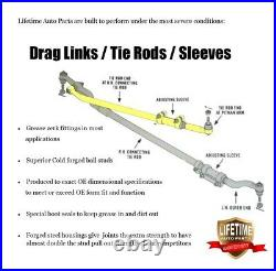 LIFETIME Chassis Kit Ford F250 F350 Super Duty 4x4 Ball Joint Tie Rod Link 05-07
