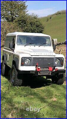 Land Rover Defender H14 Super Winch & Heavy Duty Bumper