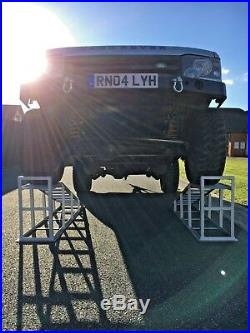 Land Rover Super Heavy Duty Huge 3500kg Car, 4x4, Van, Truck Ramps By Xrated 4x4
