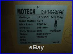 MOTECK 1500 Lb Super Heavy Duty Ball Screw Electric Actuator 12 Inch Many Uses