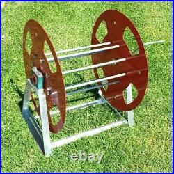 Metal Hose Reel solid steel super Heavy Duty ute truck Industrial handle water