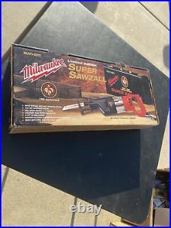 Milwaukee 6537-75 75th Anniversary Limited Edition Super Sawzall Heavy Duty