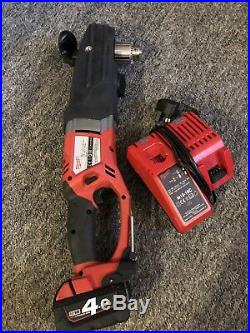 Milwaukee Super Hawg XL M18 Cordless Heavy Duty Angle Drill