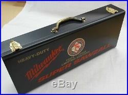 NEW Milwaukee 75th Anniversary # 6537-75 Heavy-Duty Super Sawzall With Case
