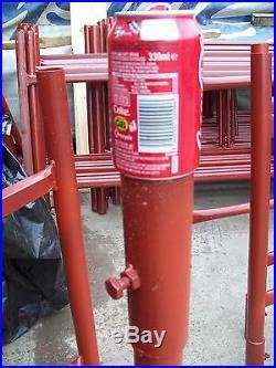 NEW Steel Scaffold Tower 6'4 x 4'4 x 18'wh Super Heavy Duty 2 tube