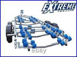 New Extreme 3500Kg Super Roller Galvanised Braked Boat Trailer