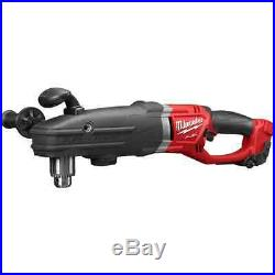 New Milwaukee 2709-20 M18 Fuel Super Hawg Heavy Duty Cordless Right Angle Drill