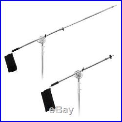 PIXAPRO Stainless Steel Century C-Stand with Super Heavy Duty Boom Arm