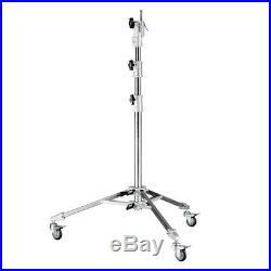 PIXAPRO Super Heavy Duty Steel Lighting Stand (107cm-220cm) Strong Studio